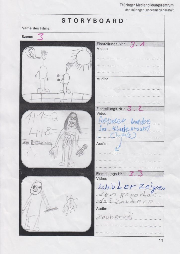 Storyboard Zauberwald 3