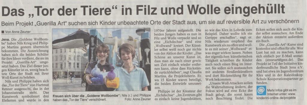 Filzbombe 001