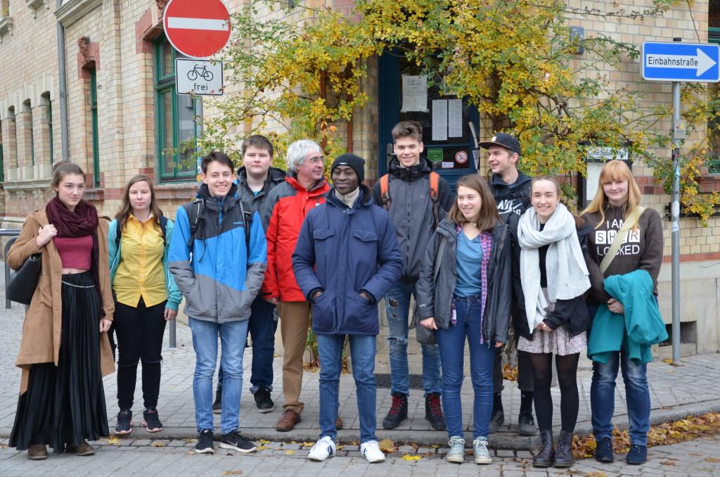 Paul Nkamani, Herr Preuss und die 11s der Kaleidoskop Schule